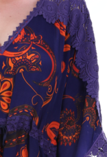 Dresskini Orange Purple Lace