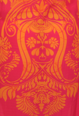 Dresskini Dress Baroc Print Fushia Orange