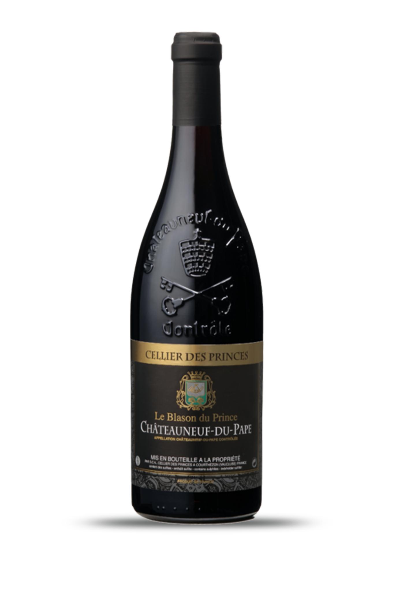 """Châteauneuf du Pape AOC  """"Le Blason du Prince""""-1"""