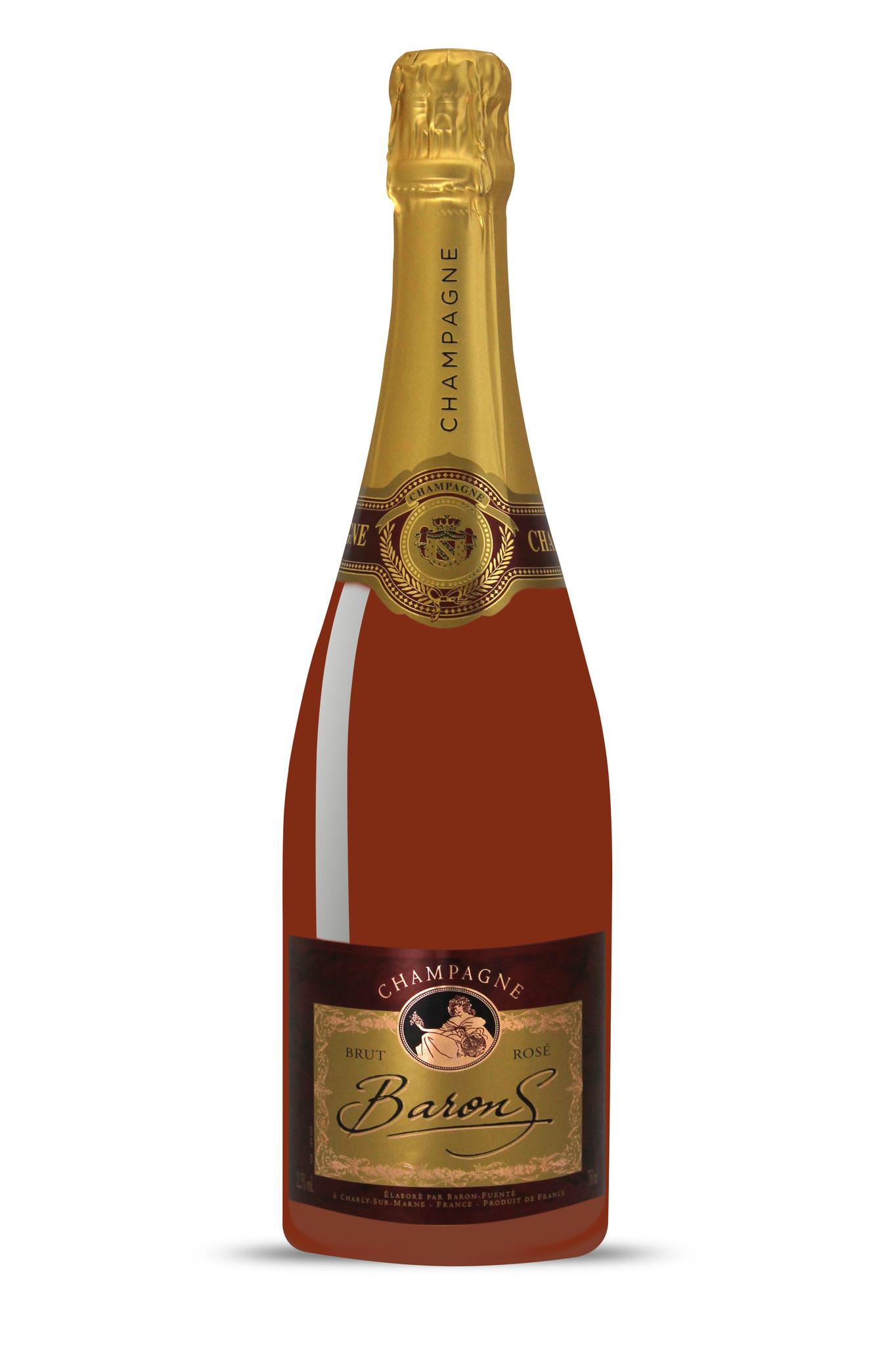 Champagne Baron's Brut Rosé-1