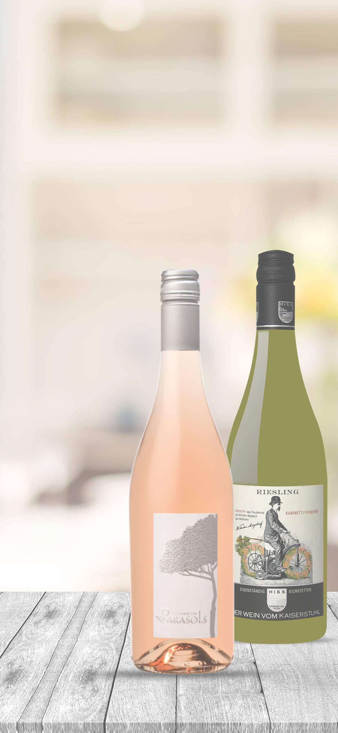 Wein-Prosecco-Champagner und mehr