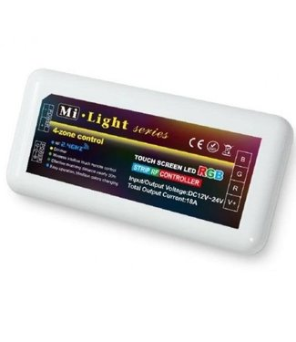 Milight RGB Led Strip Controller | 4-zone | voor RGB LED Strips
