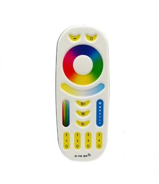 Milight LED Afstandsbediening / Dimmer RGB+CCT 4-Zone