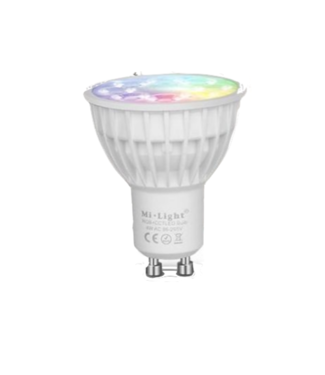Milight LED GU10 Spot RGB+CCT WiFi 4W