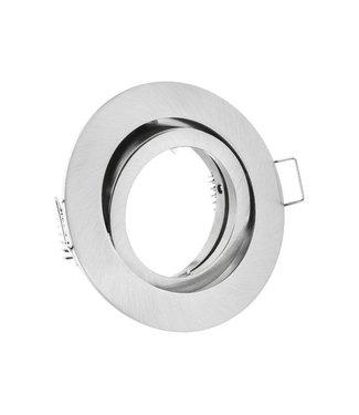 Purpl LED GU10 Armatuur Zink Kantelbaar RVS IP20