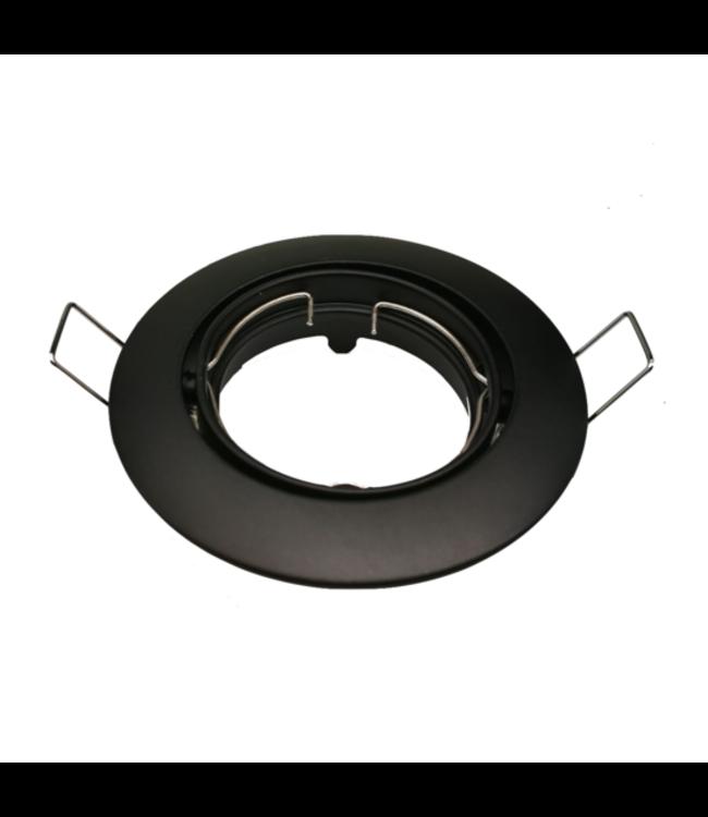 Purpl LED GU10 Armatuur Aluminium Kantelbaar Zwart IP20