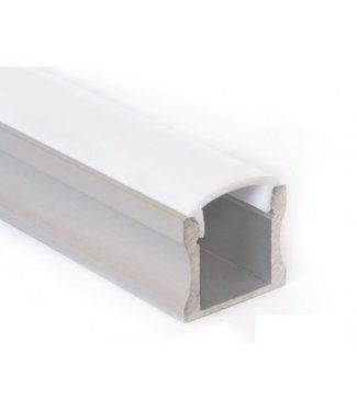 Purpl LED STRIP Aluminium profiel 1M 17,5 x 15mm opbouw