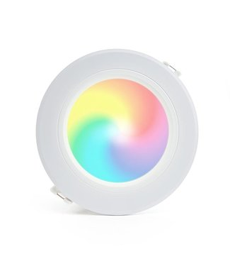 LED Downlight RGB+CCT Inbouw Rond 6W
