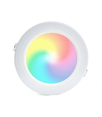 LED Downlight RGB+CCT Inbouw Rond 9W