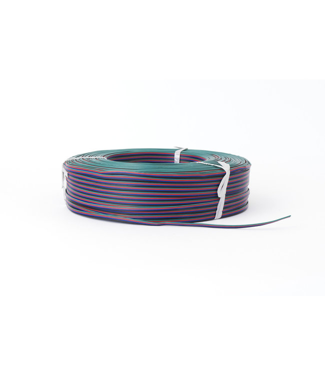 Purpl Verlengkabel 4-aderig | Per 1 of 50m | Voor RGB LED Strips