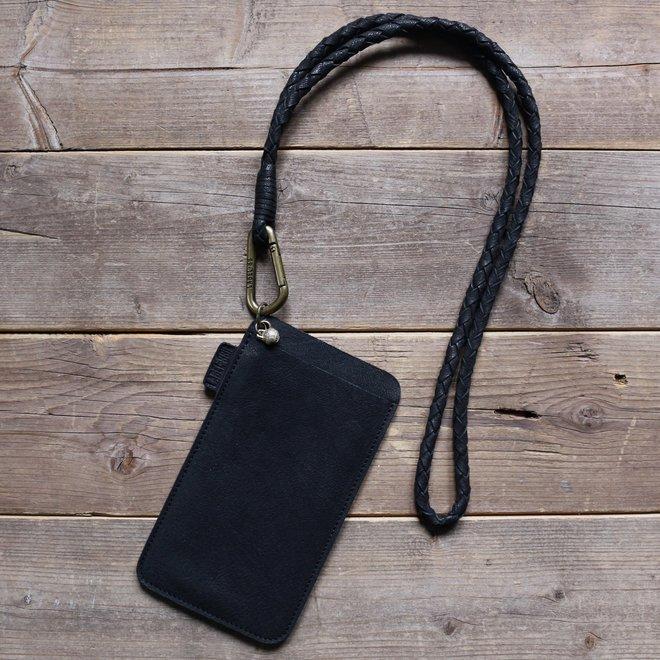 Miami XR keycord telefoonhoesje set M, zwart