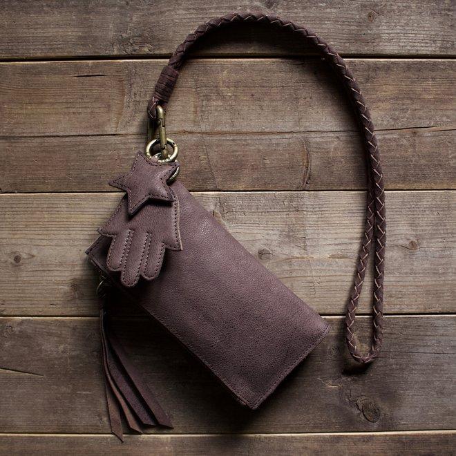 Turin portemonnee, bruin
