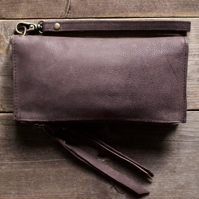 Turin portemonnee, bruin80