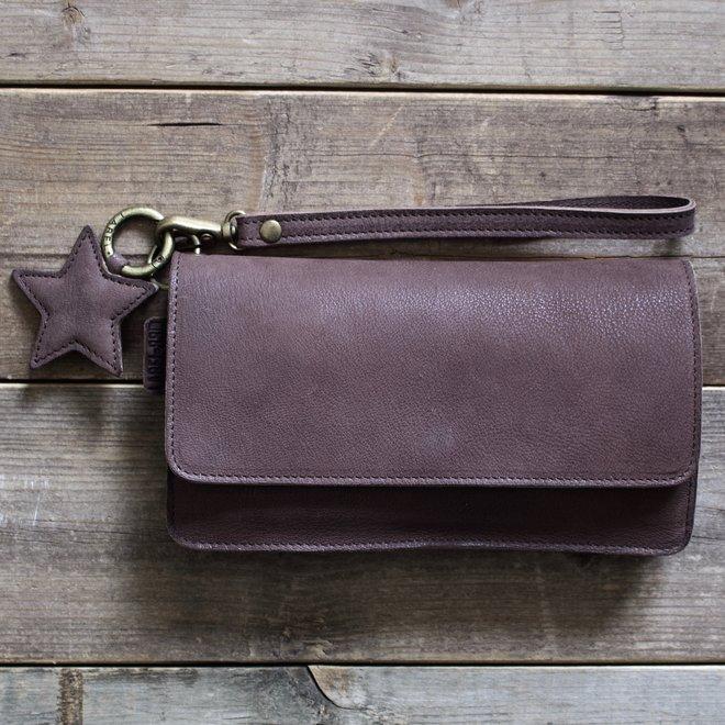 Label 88 Berlin XL wallet, brown leather