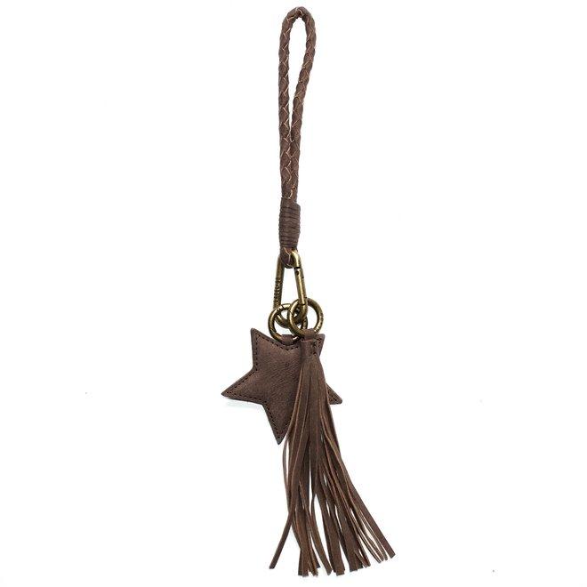 Keycord S sleutelkoord, bruin
