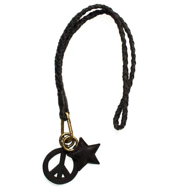 Keycord Flat sleutelkoord M, zwart