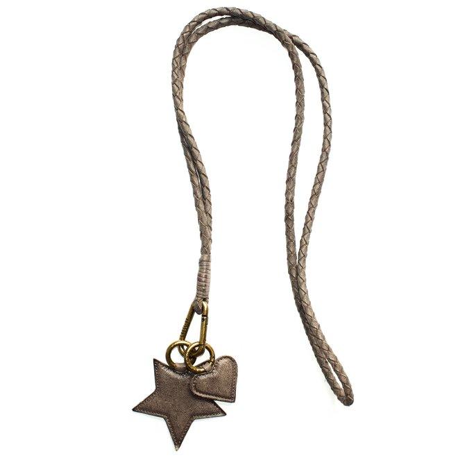Keycord L sleutelkoord, grijs