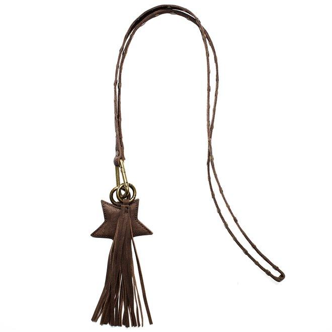Keycord Studs sleutelkoord L, bruin