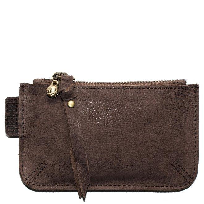 Beijing XS wallet, brown leather