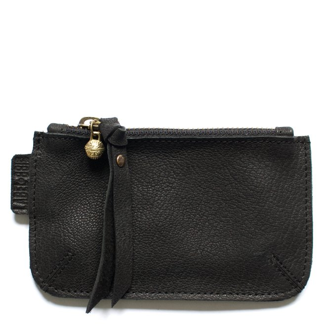 Beijing XS wallet, black leather
