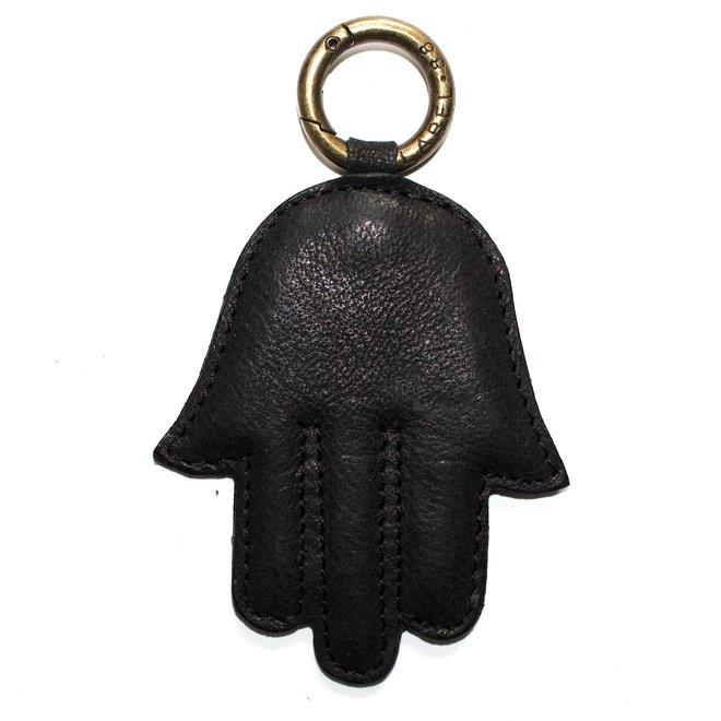 Fatima hand keychain, black