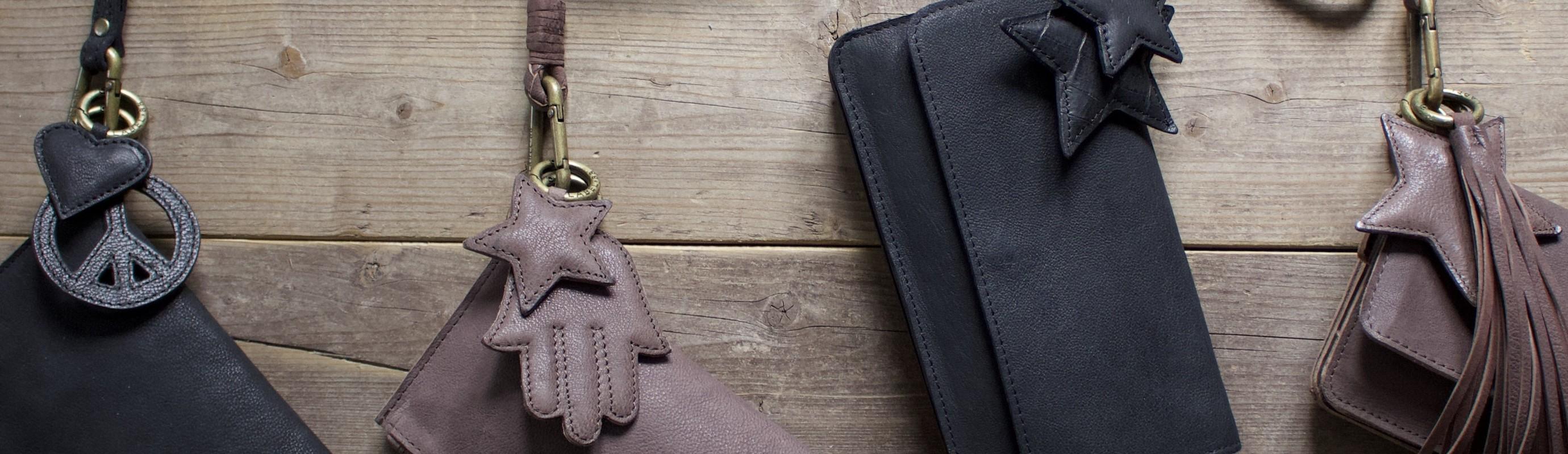 Een keycord voor bij je portemonnee