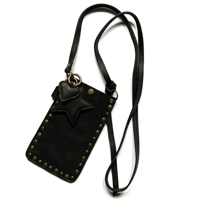 Telefoontasjes Miami XR Studs, zwart