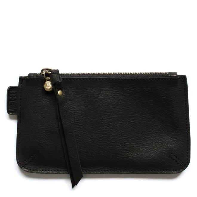 Beijing M keycordbag, black leather
