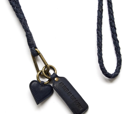 Never lose your keys again with a tough leather lanyard