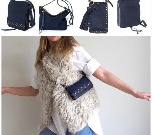 Maak je outfit compleet met een stoer en trendy crossbody/clutch tasje