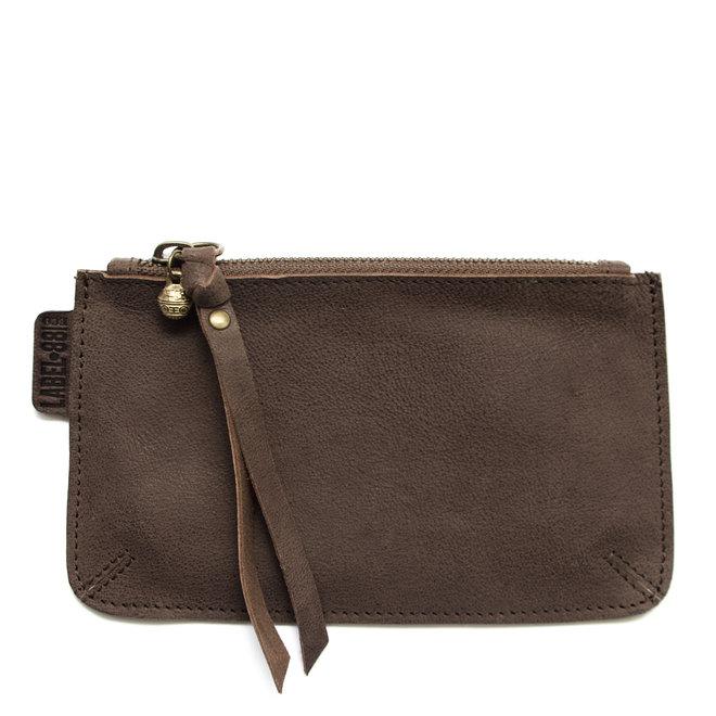 Beijing M keycordbag, brown leather