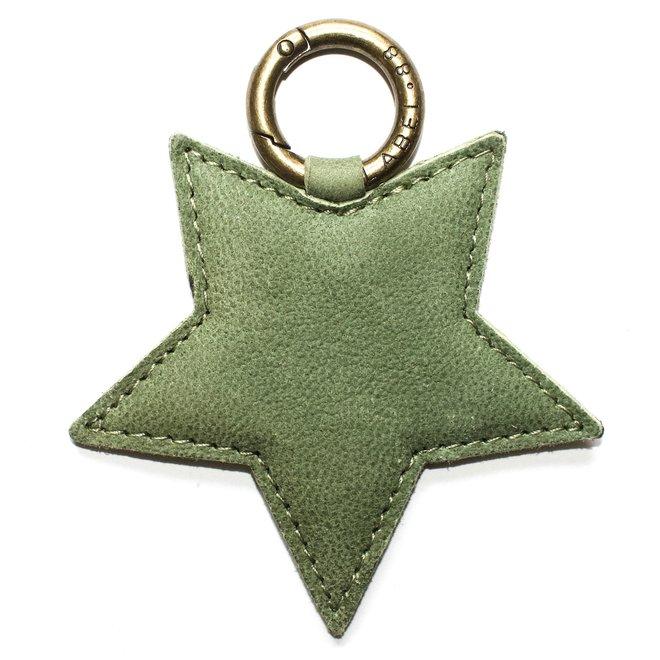 Ster L sleutelhanger, licht groen