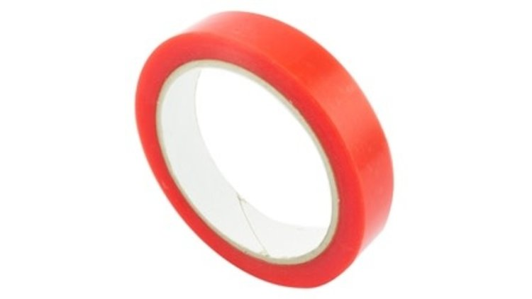 DUBBELZIJDIG TAPE POLYESTER  TRANSPARANT  19MMX10MTR