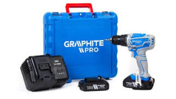 Graphite Pro Accuboormachine 18v Li-ION, PRO LINE