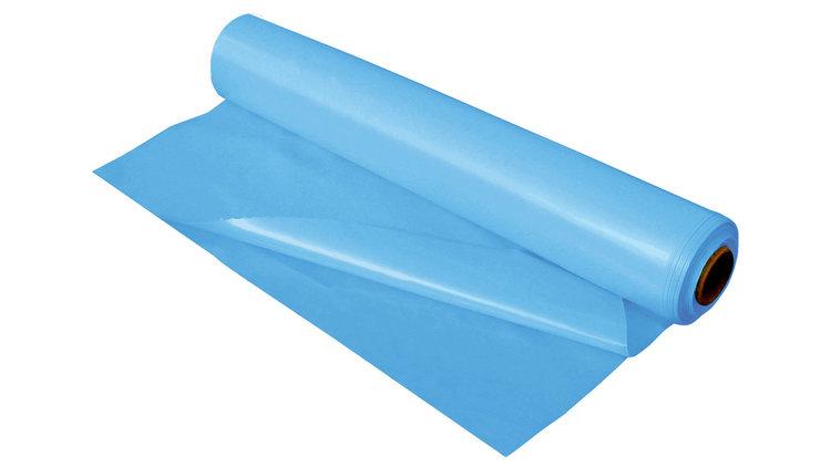 PE Plastic Blauw per mtr