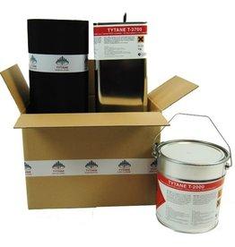 EPDM Dakpakket Compleet 3,75 mtr br