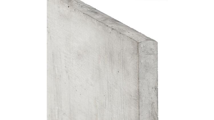 Gladde onderplaat wit/grijs