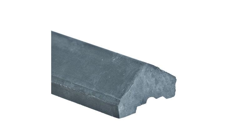 Betonafdekkap voor alle platen antraciet (lengte in het werk aan te passen)