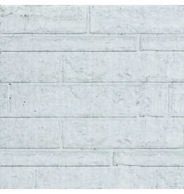 Rotsmotief dubbelzijdig onderplaat wit/grijs type C