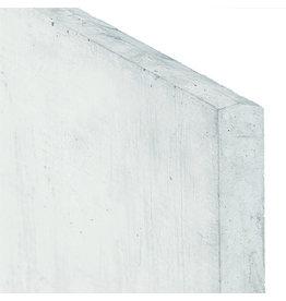 Onderplaat wit/grijs voor betonpaal type A
