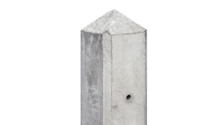 Hout-betonsysteem IJSSEL Wit/Grijs