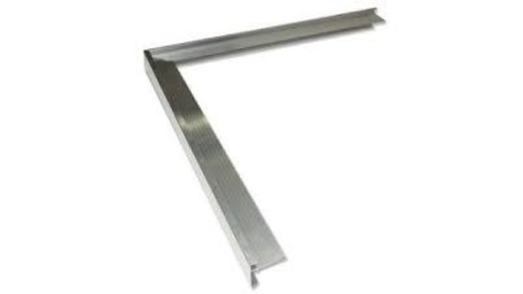 Aluminium buitenhoek
