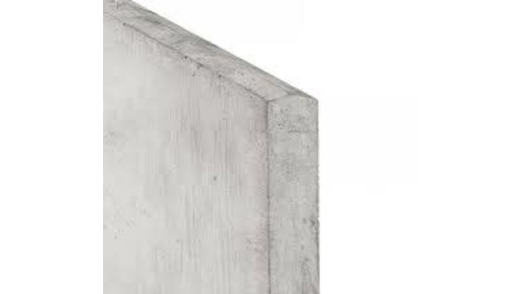 Gladde onderplaat  24 x 3.5 x 180 cm  Type Y