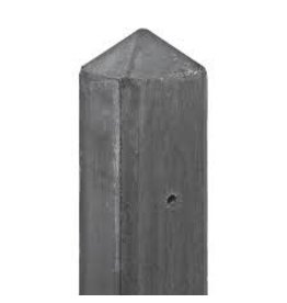 Hout -beton Systeem SCHELDE multi betonpaal Antraciet