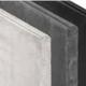 Stapelplaat 24 x 3.5 x 184 cm Type F Eindplaat met groef