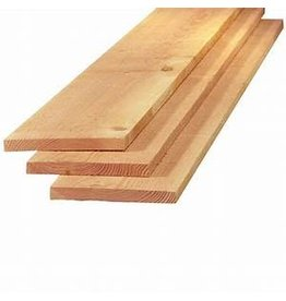Douglas Plank  22 x 200 fijn bezaagd
