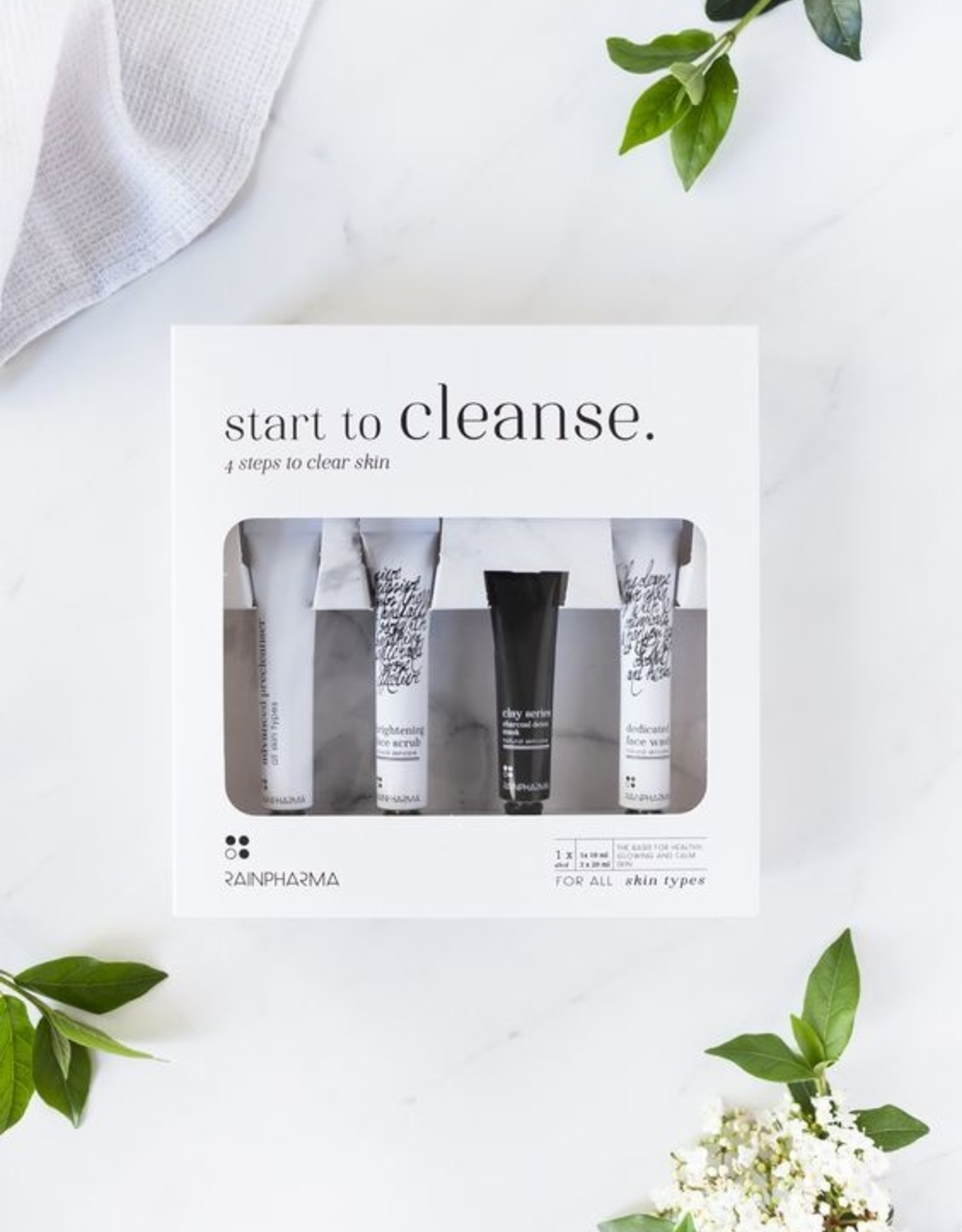 RainPharma Rainpharma - Skin Kit Start to Cleanse