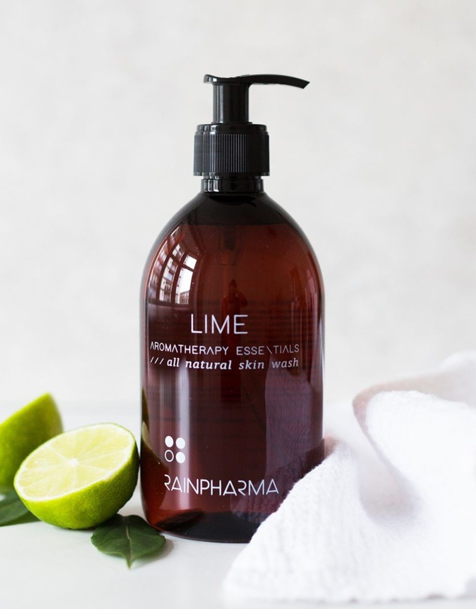 RainPharma Skin Wash Lime 500ml - Rainpharma
