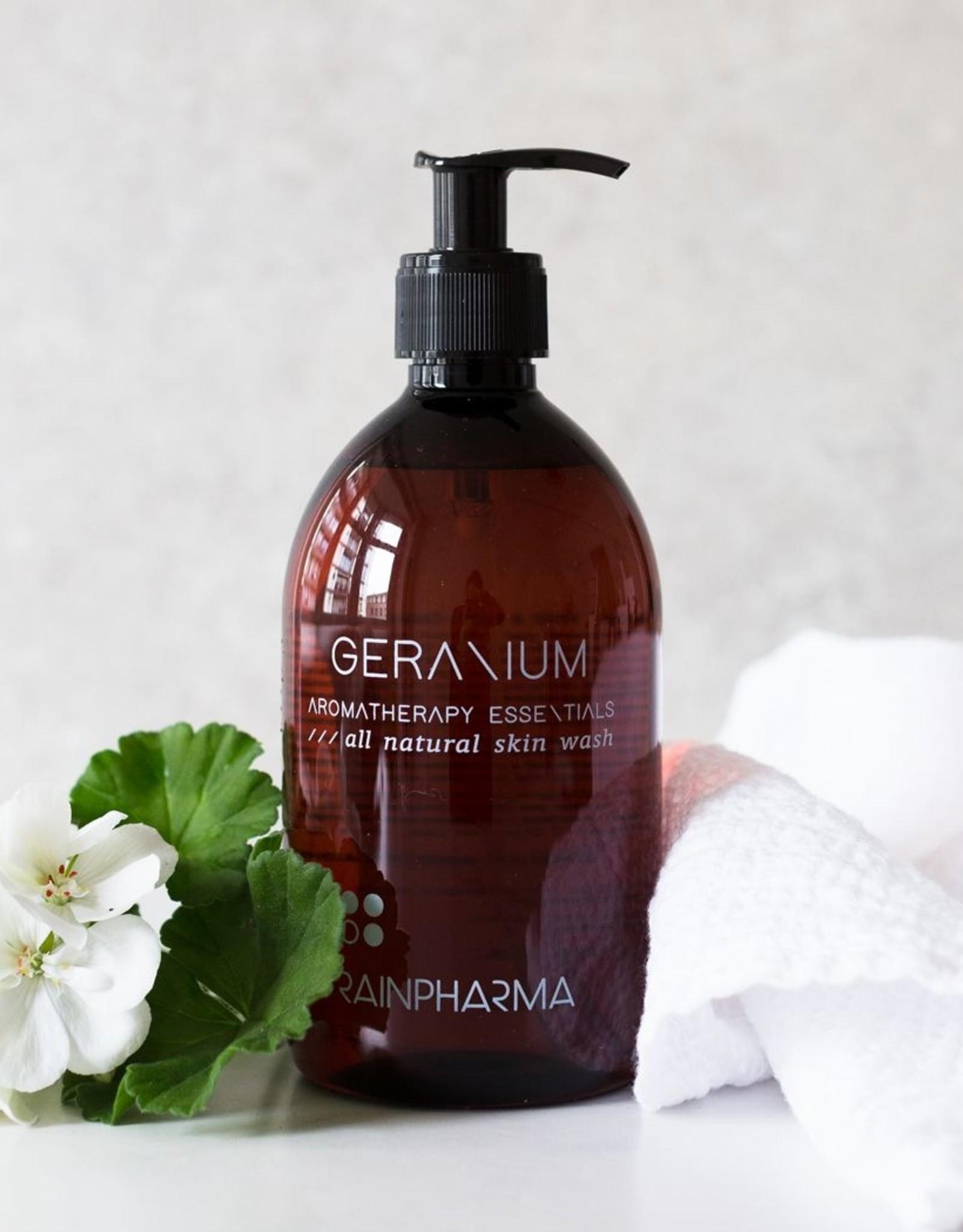 RainPharma Skin Wash Geranium 500ml - Rainpharma