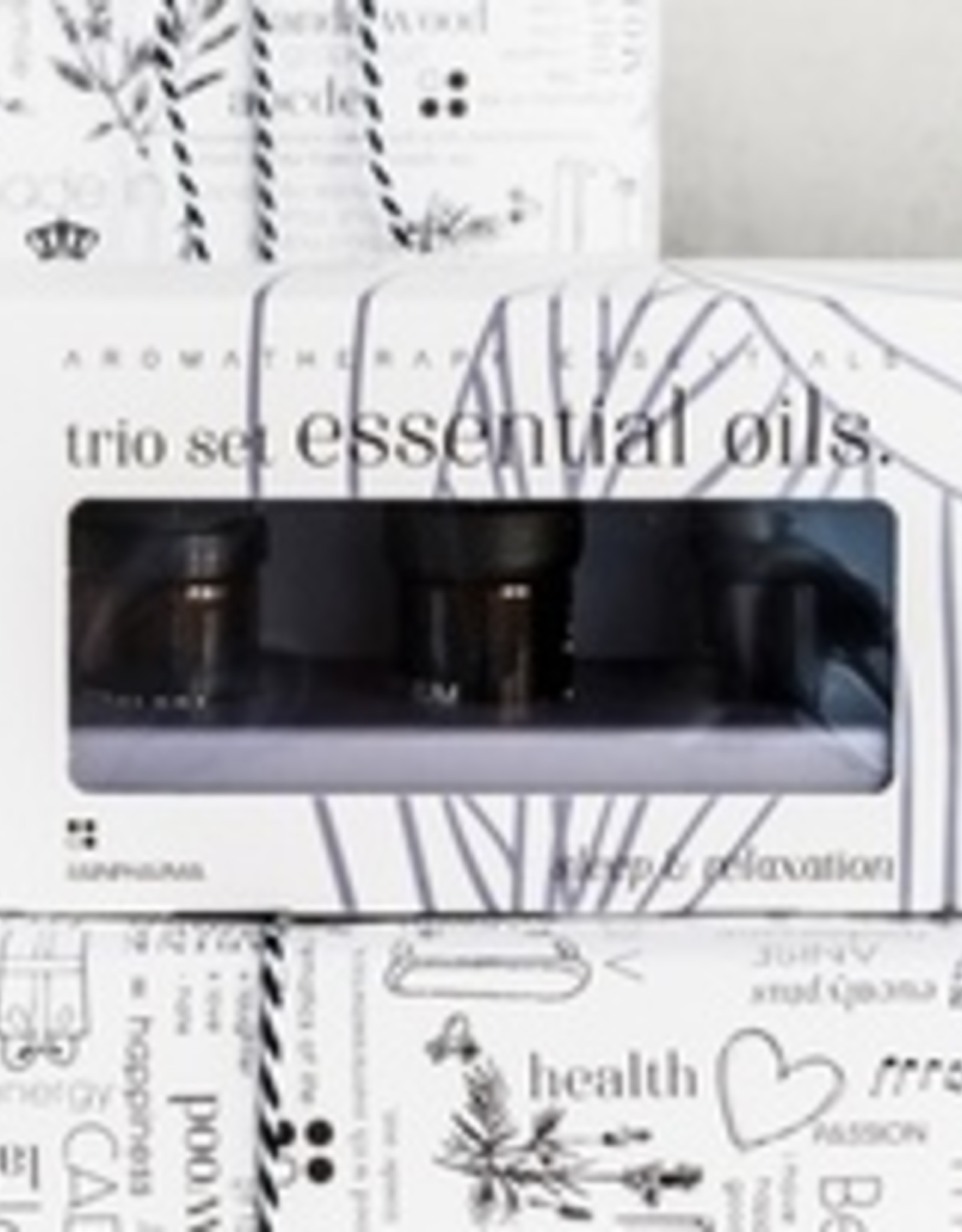 RainPharma Rainpharma - Trio Essential Oils - Sleep & Relaxation